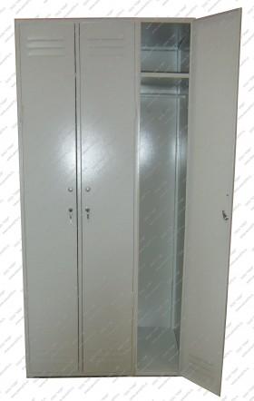 Шкаф для одежды 3-х секционный ШО-3.
